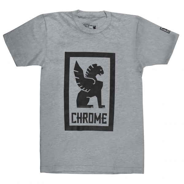 Chrome - Large Lock Up Tee - T-Shirt