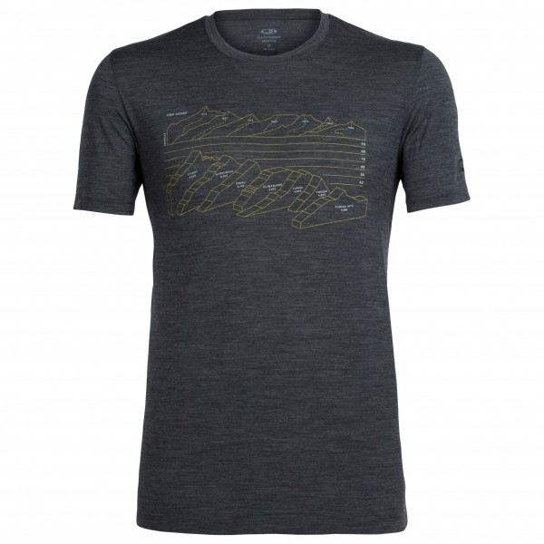 Icebreaker - Tech Lite S/S Crewe First Ascents - Camiseta funcional