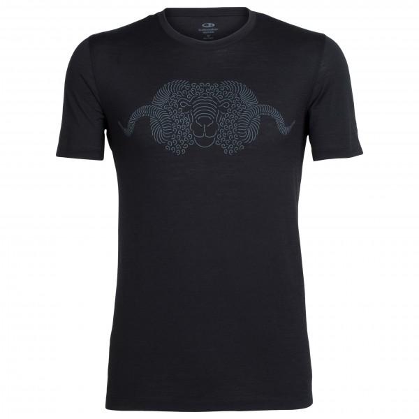 Icebreaker - Tech Lite S/S Crewe Merino Lineation - Sport shirt