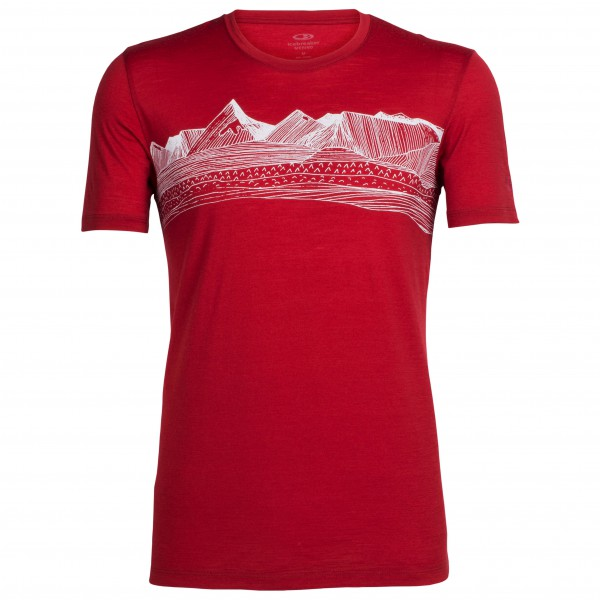 Icebreaker - Tech Lite S/S Crewe Pyrenees - Camiseta funcional