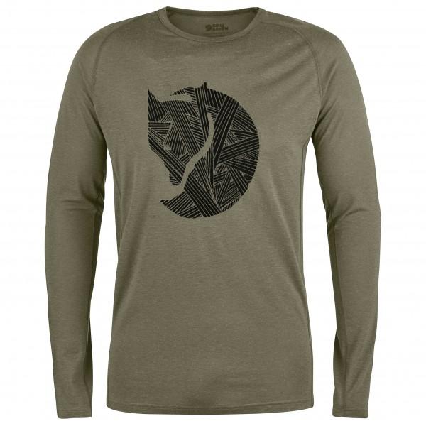 Fjällräven - Abisko Trail T-Shirt Print L/S - Longsleeve