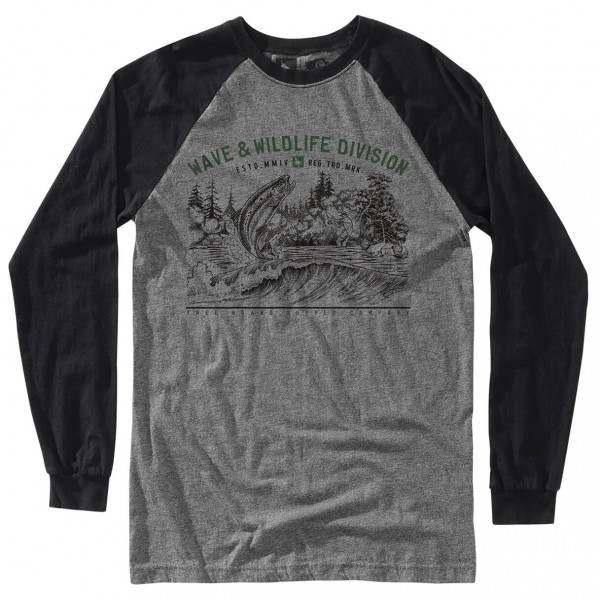 Hippy Tree - Bait Long Sleeve Tee - Camiseta de manga larga