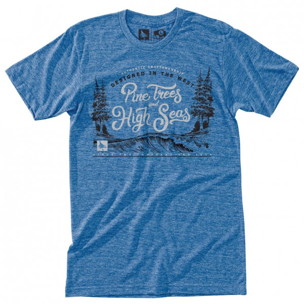 Hippy Tree - Current Tee - T-shirt