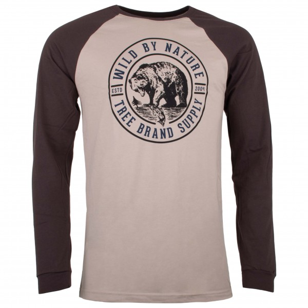 Hippy Tree - Grizzly Long Sleeve Tee - Long-sleeve