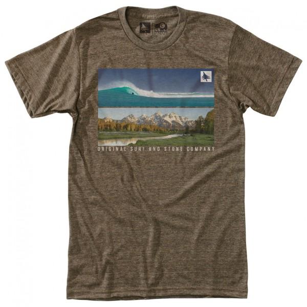 Hippy Tree - Panoramic Tee - T-paidat
