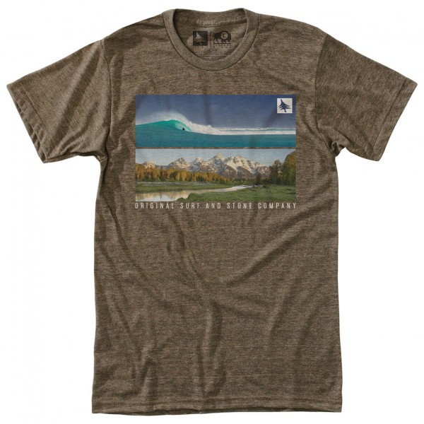 Hippy Tree - Panoramic Tee - T-shirt