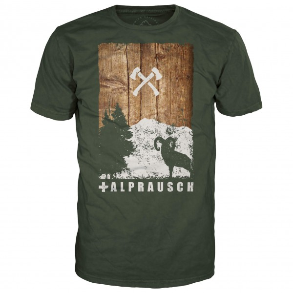 Alprausch - Holz-Bock T-Shirt - T-Shirt