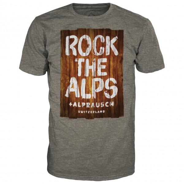 Alprausch - Holz-Rock T-Shirt - T-Shirt