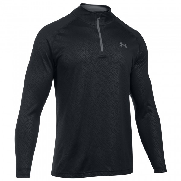 Under Armour - Tech Emboss 1/4 Zip - Longsleeve