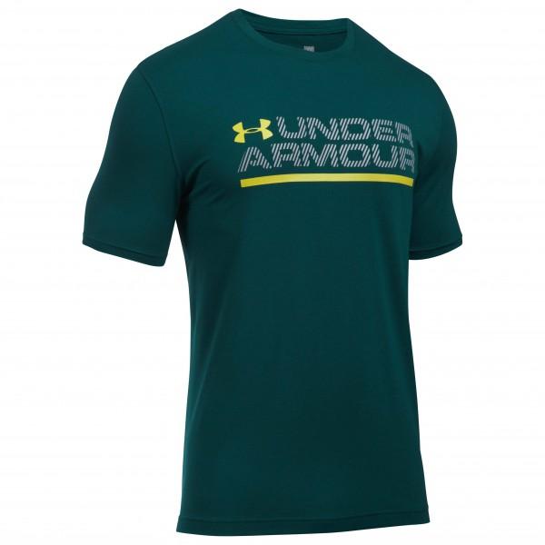 Under Armour - Wordmark Lock Up S/S - Maglia funzionale