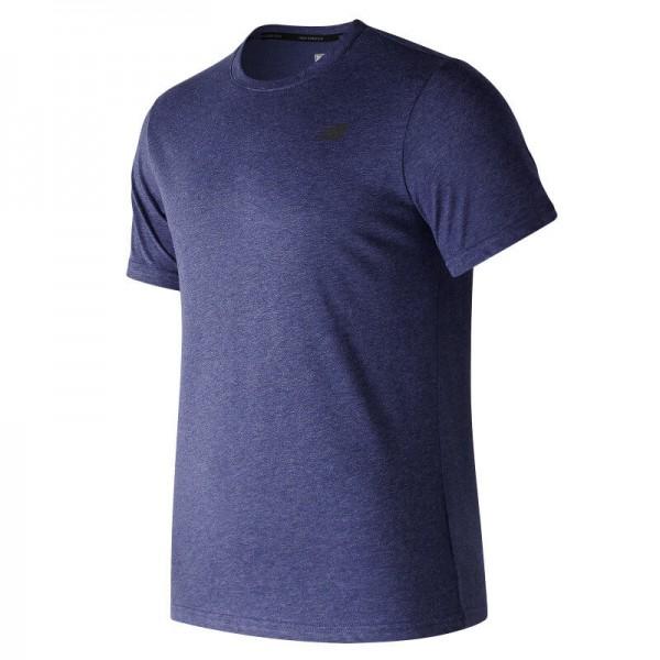 New Balance - Heather Tech S/S - Running shirt