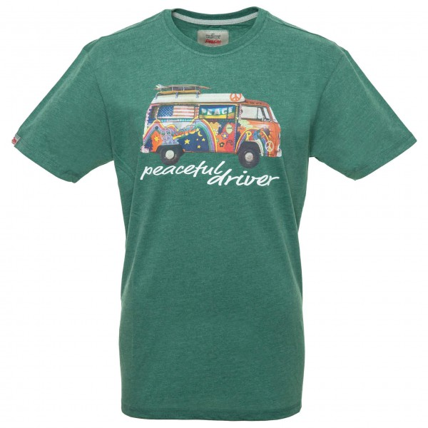 Van One - Peaceful Driver VW Bulli - T-shirt