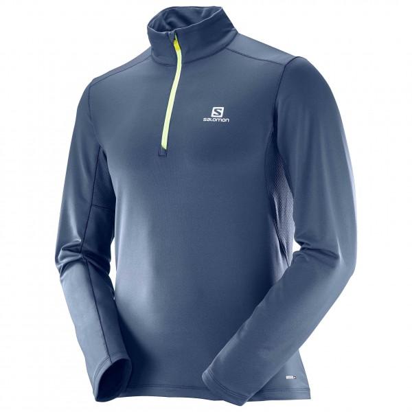 Salomon - Agile Warm Halfzip Mid - Joggingshirt