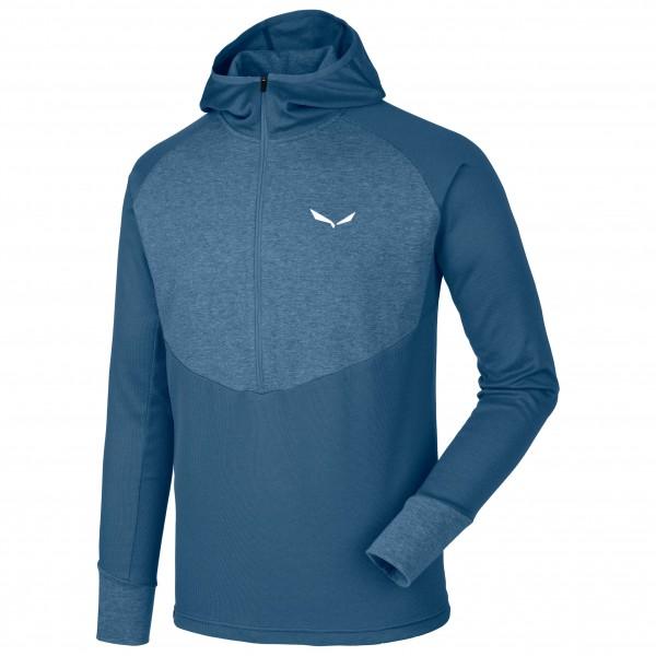 Salewa - Puez Dry L/S Hood HZ Tee - Camiseta funcional