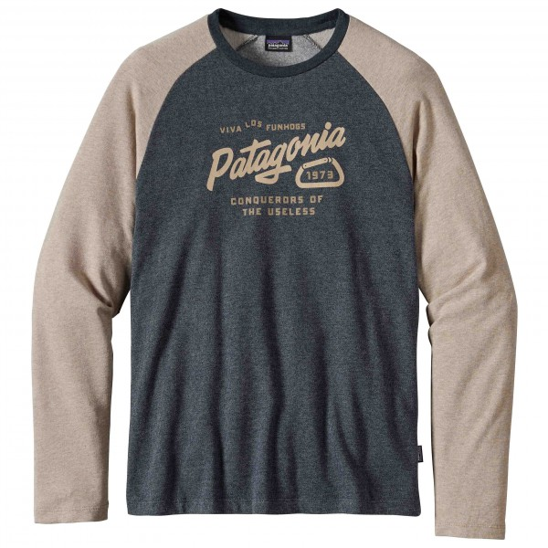 Patagonia - Splitter Script Lightweight Crew Sweatshirt - Haut à manches longues