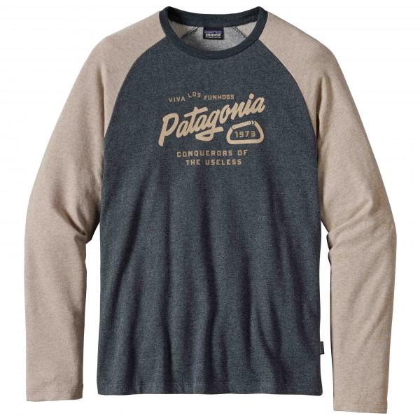 Patagonia - Splitter Script Lightweight Crew Sweatshirt