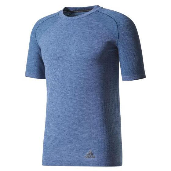 adidas - Primeknit Wool Short Sleeve Tee - Running shirt