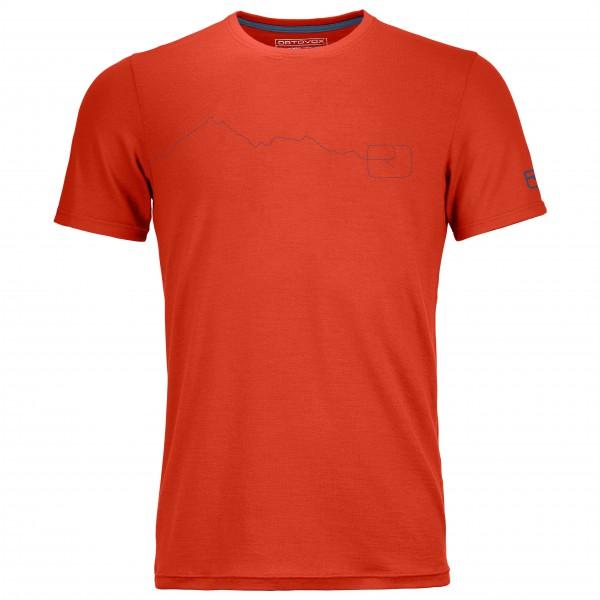 Ortovox - 150 Cool Mountain T-Shirt - T-paidat