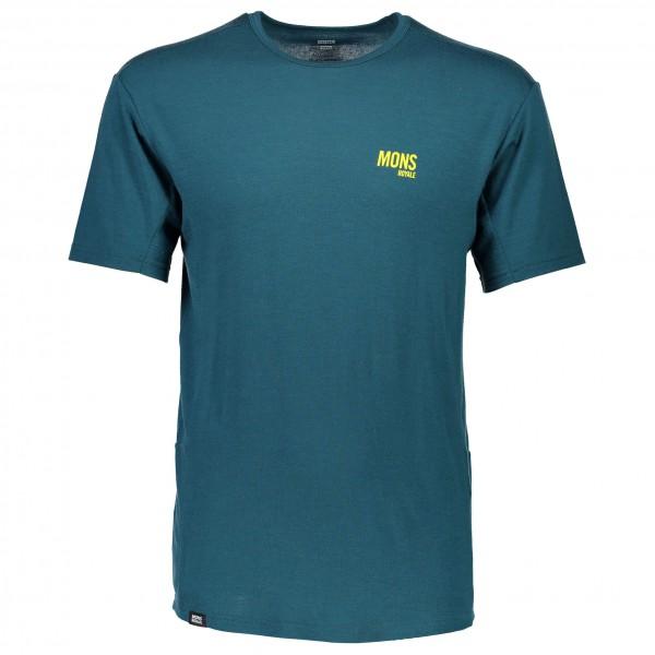Mons Royale - Temple T Slant - Sport-T-shirt