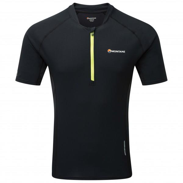 Montane - Fang Zip T-Shirt - Løbeshirt