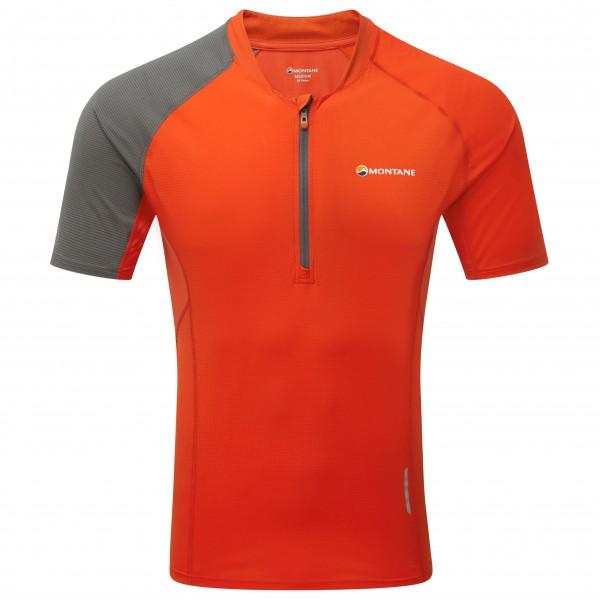 Montane - Fang Zip T-Shirt - Löpartröja