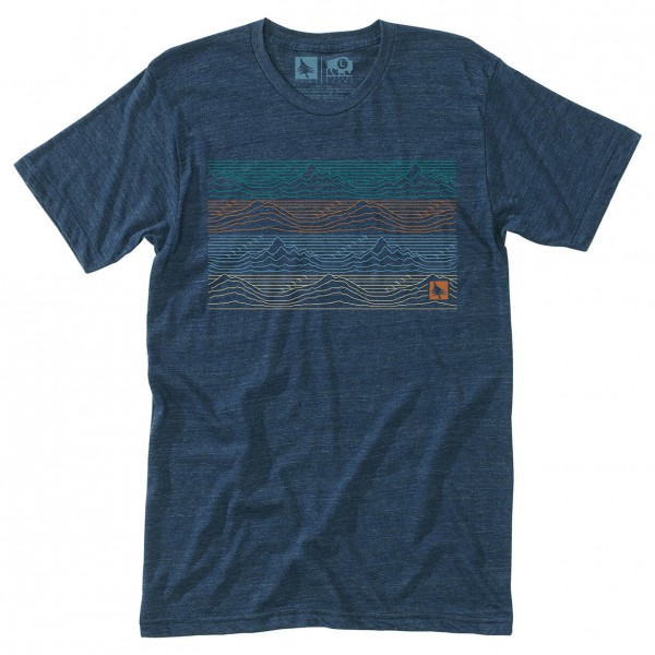 Hippy Tree - Gradient Tee - T-shirt