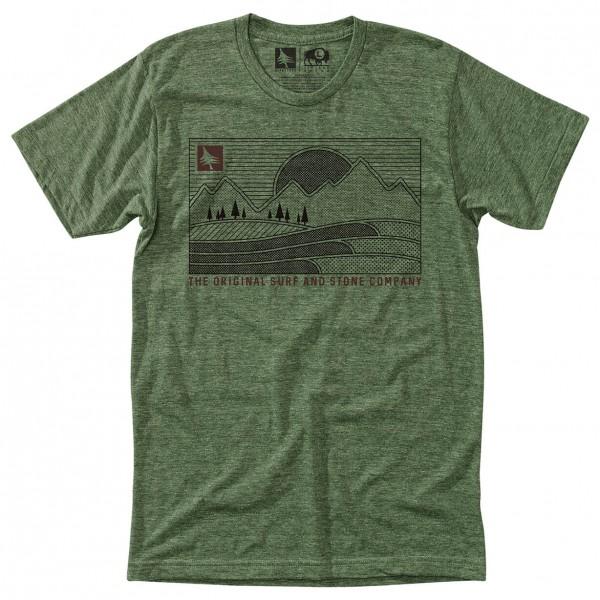 Hippy Tree - Pattern Tee - T-Shirt