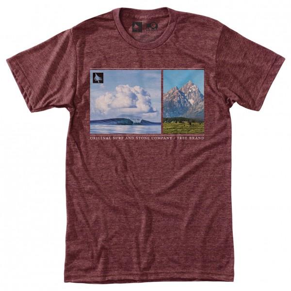 Hippy Tree - Splice Tee - T-shirt