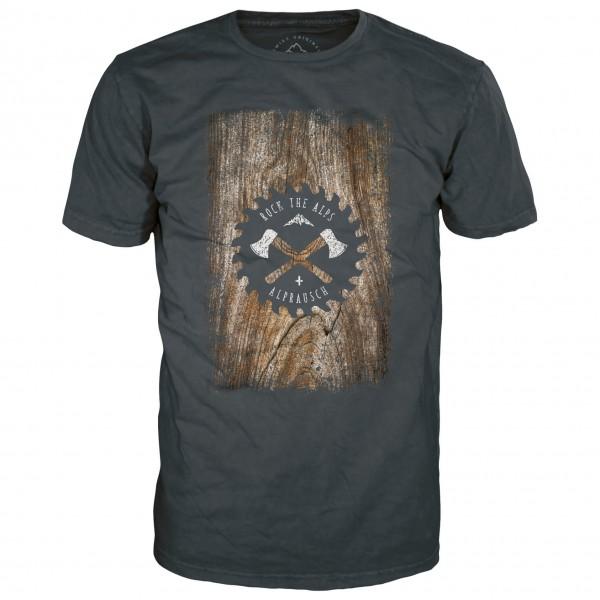 Alprausch - Holzfräsi T-Shirt - T-shirt