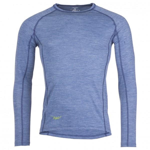 Triple2 - Lang Shirt - Merino-ondergoed