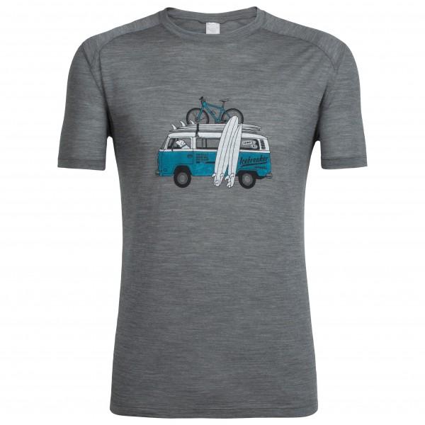 Icebreaker - Sphere S/S Crewe Van Surf Life - T-shirt