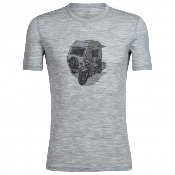 Icebreaker - Tech Lite S/S Crewe Camper - T-shirt