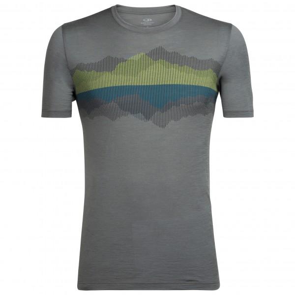 Icebreaker - Tech Lite S/S Crewe Cook Reflected - Camiseta de manga corta
