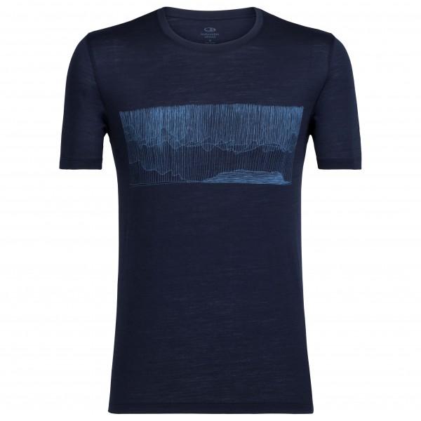 Icebreaker - Tech Lite S/S Crewe Hard Rain - T-skjorte