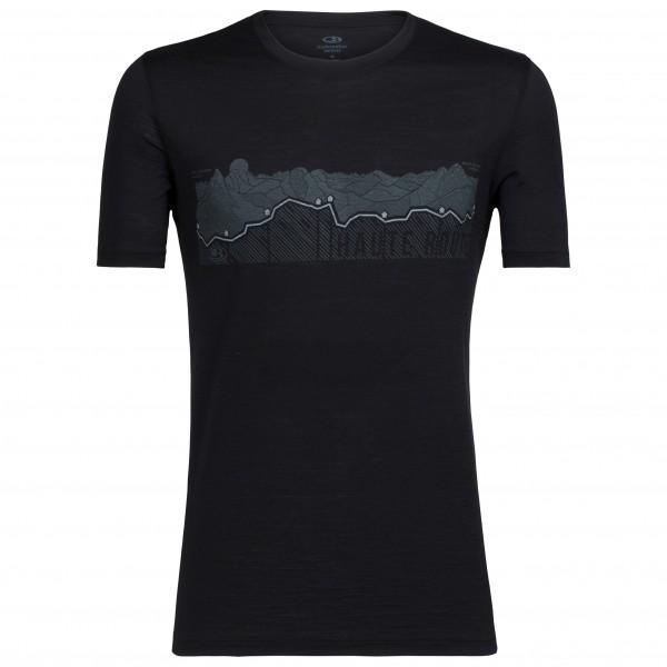 Icebreaker - Tech Lite S/S Crewe Haute Route - T-shirt
