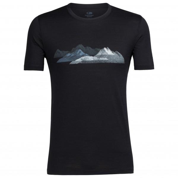 Icebreaker - Tech Lite S/S Crewe Misty Peaks - T-Shirt