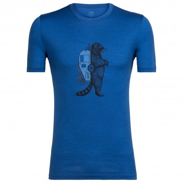 Icebreaker - Tech Lite S/S Crewe Waschbar Wandering - T-skjorte