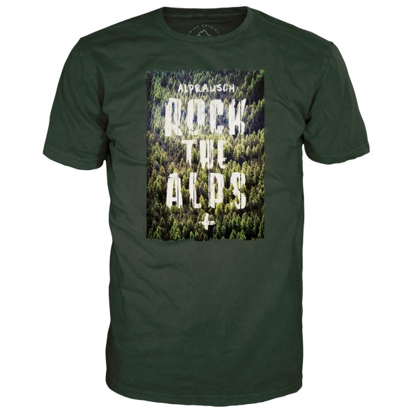 Alprausch - Rock The Alps T-Shirt - T-paidat