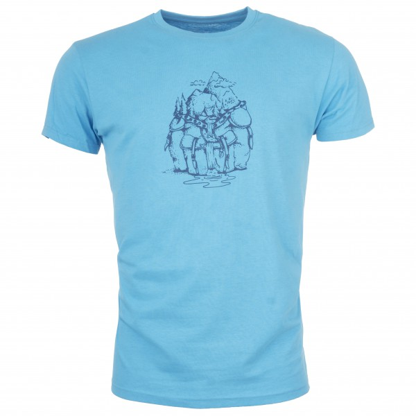 Bergfreunde.de - MussAuMitBF - Camiseta de manga corta