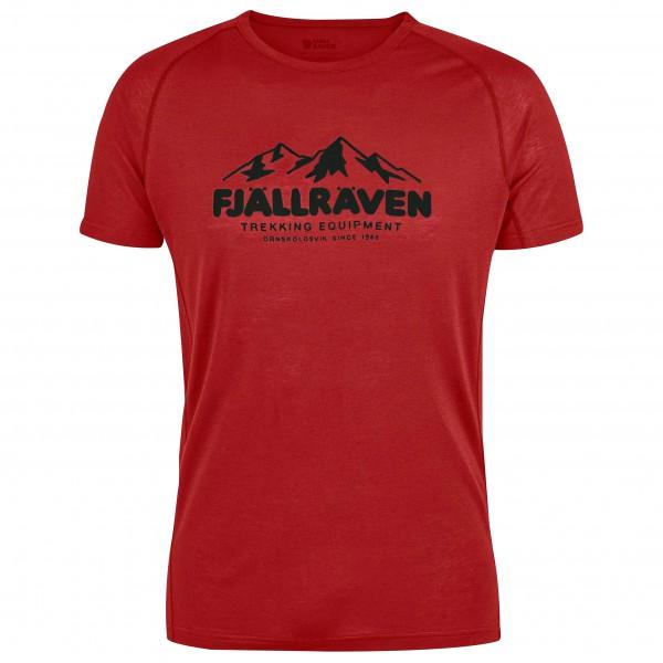 Fjällräven - Abisko Trail T-Shirt Print - Camiseta de manga corta