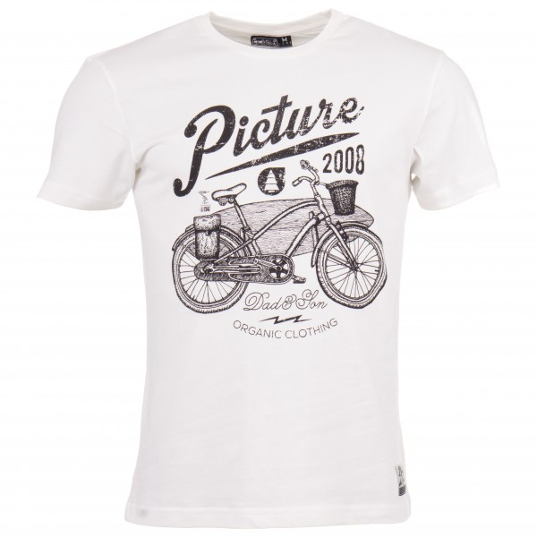 Picture - Dad & Son Wheel - T-Shirt