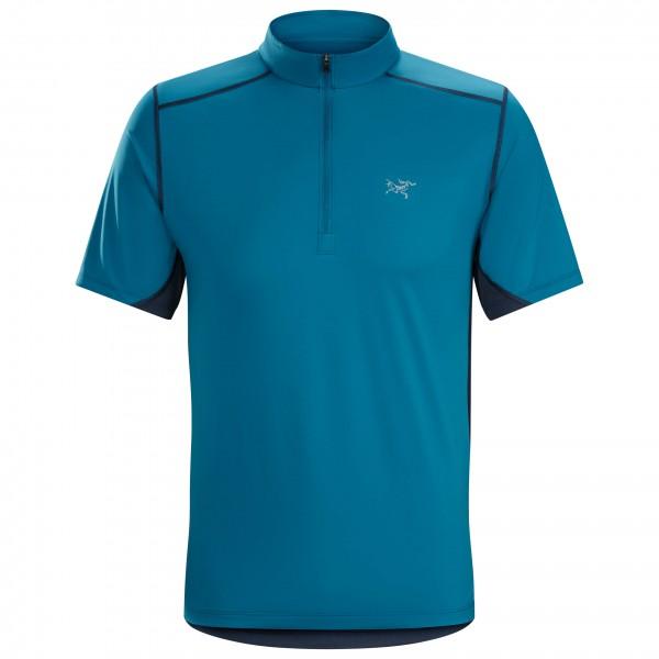 Arc'teryx - Accelero Comp Zip Neck S/S - Running shirt