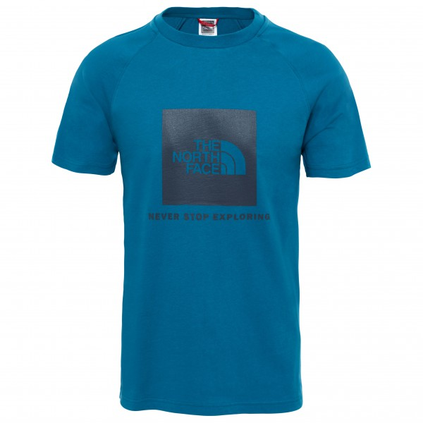 The North Face - S/S Raglan Red Box Tee - T-Shirt