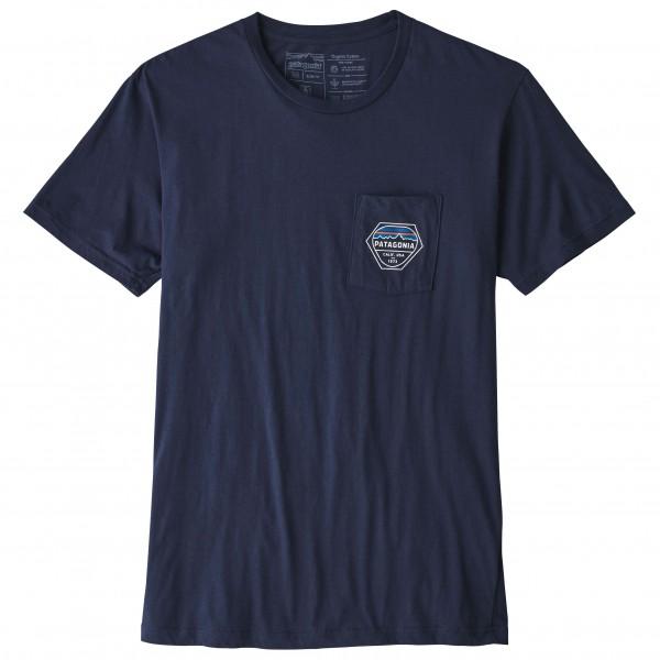 Patagonia - Fitz Roy Hex Organic Pocket T-Shirt - T-shirt