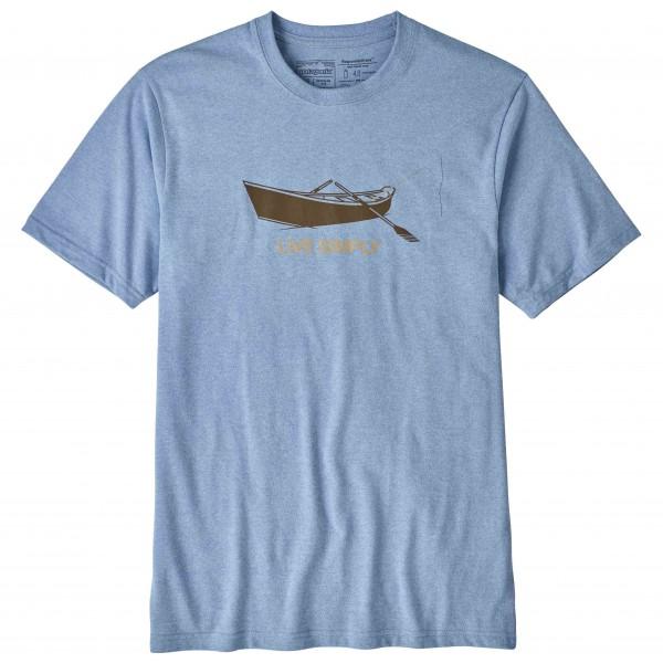 Patagonia - Live Simply Drift Boat Responsibili-Tee - T-shirt