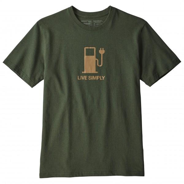 Patagonia - Live Simply Power Responsibili-Tee - T-shirt