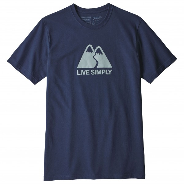 Patagonia - Live Simply Winding Responsibili-Tee - T-Shirt