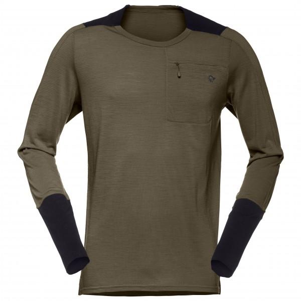 Norrøna - Skibotn Wool Equaliser Long Sleeve - Longsleeve