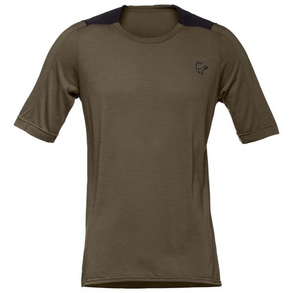 Norrøna - Skibotn Wool Equaliser T-Shirt - T-paidat