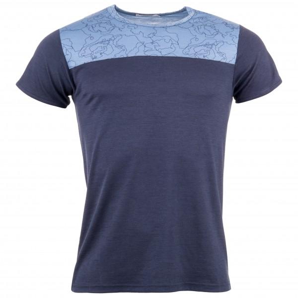 We Norwegians - Sommer Col Block Tee - T-shirt